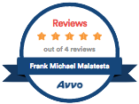 Avvo Badge Frank Michael Malatesta